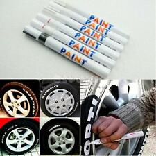 Universal Waterproof Permanent Tyre Tire Tread Rubber Paint Marker Pen Motor Car