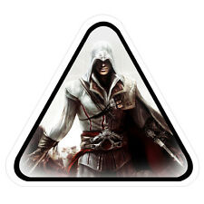 Assassin's Creed Ezio Auditore Vinyl Sticker (for car bumper, window, helmet)