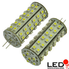 G4 Bi-Pin Tower Type 4W LED Bulb with 66xSMD3528 12V AC/DC or 10-30V DC (2-Pack)
