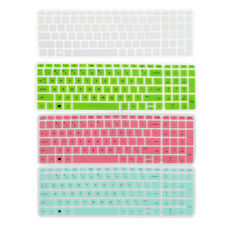 Silicone Anti-Dust Keyboard Protector Skin Film Cover for HP Pavilion 15 Laptop