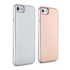 Proporta latest Slim Brushed Metal Back Hard Shell Case Cover for Apple iPhone 7