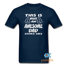 This is An Awesome Dad Funny T Shirt Father's Gift tshirt