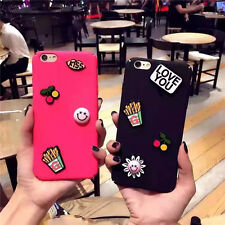New 3D Cute Accessory Colorful Matte TPU Back Cover Case for iPhone 6/6S plus
