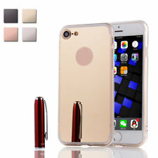 Premium Ultra-Thin Silicone TPU Mirror Hard Case Back Cover for iPhone 7 Phone