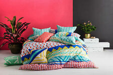 NEW Ellie quilt cover set by Kas - cotton geometric bedding bed linen