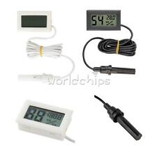 1.5M Mini Digital LCD Thermometer Hygrometer Humidity Temperature Meter Indoor W