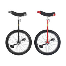 """RED BLACK 20"""" INCH FUN UNICYCLE UNI CYCLE SCOOTER CIRCUS PRO BIKE HIGHT QUALITY"""