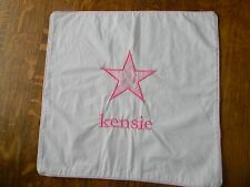 Pottery Barn Kids Pillow Sham Personalized Monogrammed - Kensie