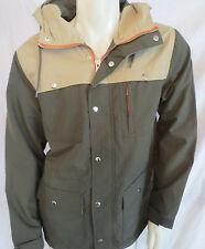 New St John Bays Mens Hunting Style Lightweight Outdoor Olive Khaki Jacket $100