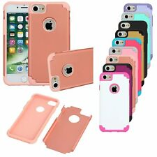 Hybrid Rugged Rubber Heavy Duty Matte Hard Case Cover For Apple iPhone 7& 7 Plus