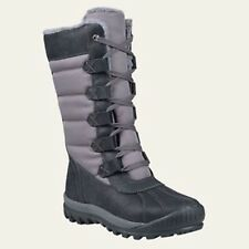 Timberland Women's Mount Hayes Tall Size Waterproof Black Winter Boots A11SN