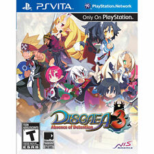 Disgaea 3: Absence of Detention (Sony PlayStation Vita) BRAND NEW FREE SHIPPING