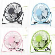 Mini Portable Super Mute Laptop Computer PC Metal USB Cooler Cooling Desktop Fan