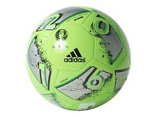 Adidas Performance Euro 16 Glider Soccer Ball Green/Silver Metallic G Size 3 4 5