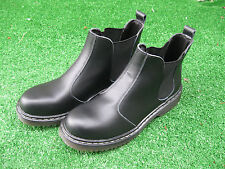 Women's  Men KO FASION Shoes boots size 7 and 8 black leather RRP-89.90 AUD