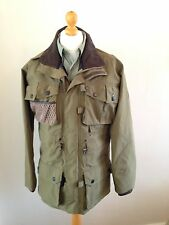 Barbour Dry Fly Jacket Waterproof Breathable Size Small With Hood