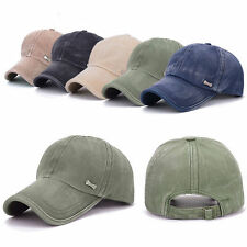 NEW Men Women Adjustable Plain Baseball Trucker Cap Sport Snapback Hip-hop Hat 7