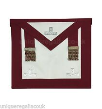 Masonic Regalia Craft Provincial Steward Apron with Levels