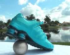Nike Shox NZ EU Womens Running Shoes Aqua Running Shoes Size 7