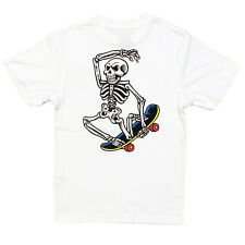 Santa Cruz - Skate Riot Youth Tee White