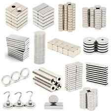 3/5/10/50 N52 Super Strong Round Block Disc Magnets Rare Earth Neodymium Magnet