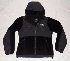 The North Face Denali Hoodie Jacket Womens Small (S) Black Fleece