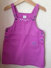 Next Pink Dungaree Style Dress Age 2-3 Years