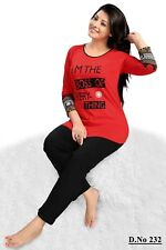 Ladies Long Sleeve Pyjama set  I M THE BOSS OF EVERYTHING  PJ's Nightwear