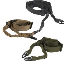Tactical 2 Dual-Point Adjustable Hunting Rifle Shotgun Sling Bungee Strap Belt