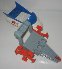 1960's ELDON TOYS, BILLY BLASTOFF GREY SPACE CRAWLER & US-6 SPACE SLED-EXCELLENT