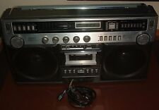 Vintage GE 3-5295A Boombox - GENERAL ELECTRIC Portable Stereo - Working