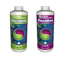 General Hydroponics FloraDuo Series GROW-A & BLOOM-B ALL Combo Sizes BAY HYDRO