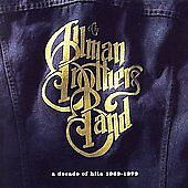 Allman Brothers Band - A Decade of Hits CD 2000 Polydor 16 Tracks w/ Duane *NEW*