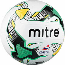 Mitre Delta Hyperseam V12 Match Football - Size 4 or 5 (Ball not pumped up)