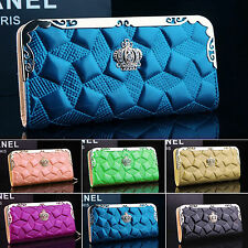 Womens Wallet Coin Purse Card Holder Ladies Clutch Leather Long Handbag Bags