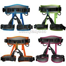 Safety Seat Harness Belt Bust Rock Climbing Outdoor Rappel Rescue Gear Equipment