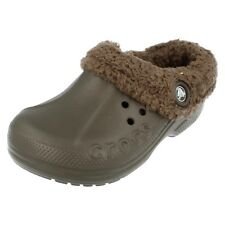 Girls Blitzen Kids chocolate synthetic clog by Crocs
