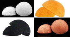 4 PCS Natural Konjac Fiber Konnyaku Cleansing Puff Sponge Makeup Remover Face