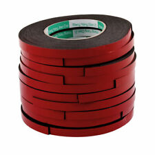 10pcs Red Strong Double Sided Adhesive Tape Sponge Tape 10MM Width 5M Length