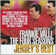 FRANKIE VALLI  & THE FOUR SEASONS JERSEY'S BEST THE VERY BEST 2 CD NEW