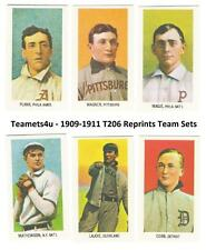 1909-1911 T206 Reprints Baseball Team Sets ** Pick Your Team Set **