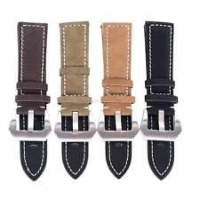 Mens Womens Unisex Leather Replacement Watch Strap Band Wristwatch Strap Belt