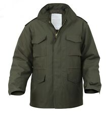 M-65 FIELD JACKET ROTHCO ,  ARMY GREEN - BRAND NEW / WITH LINER XSML, MED, 2XLGE