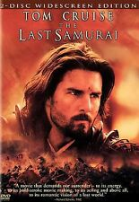 The Last Samurai 2 Disc Widescreen Edition DVD Tom Cruise 2004 used