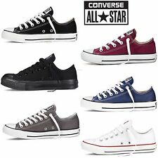 Unisex Converse Lo Top Classic All Star Ox Canvas Trainers Sneaker
