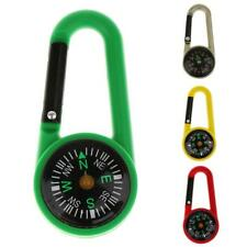 Carabiner Clip Snap Hook Keychain Outdoor Bottle Scouts Buckle Compass Tool
