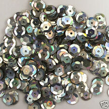 Sequins Silver Magic 8mm Round Cup ~400 pieces or ~4,750 pieces Loose HQ