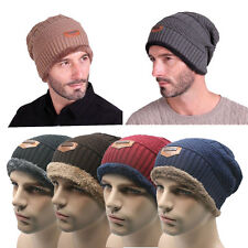 Men's Women Winter Knit Crochet Slouch Ski Cap Beanie Knitting Wool Warm Hat 6