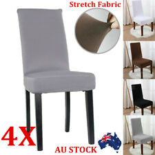 Stretch Dining Chair Cover Removable Washable Slipcover Dinning Cover 2/4/6/8Pcs