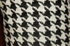 Hounds Tooth 80/20 Wool Fabric  54 Wide. By The Yard